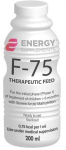 F-75 200 ml bottle