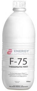 F-75 500 ml bottle